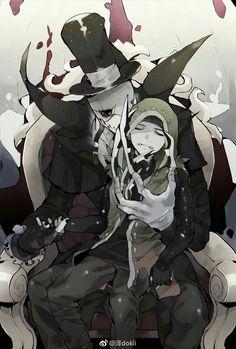 Góc quằn Identity V - Jack x Naib - Wattpad Magic Anime, Identity Art, Slayer Anime, Manga, Mail Art, Wattpad, Cute Art, Fantasy Art, Creepy