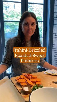 Sweet Potato Recipes, Vegetable Recipes, Vegetarian Recipes, Healthy Recipes, Fall Recipes, Whole Food Recipes, Dinner Recipes, Cooking Recipes, Roasted Sweet Potatoes