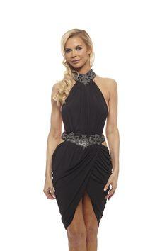 6f88c44f08 Vie Sauvage Marissa Backless Choker Dress