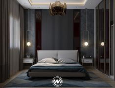 18 Cool Bedroom Decor in Your Home - Bedroom Design Luxury Bedroom Furniture, Luxury Bedroom Design, Master Bedroom Design, Home Decor Bedroom, Home Interior Design, Bedroom Designs, Bedroom Ideas, Simple Interior, Master Suite