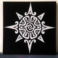 Astral airbrush painting on canvas