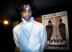 Photographing Prince
