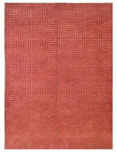 Charming Color Coral   Coral!!! Rug