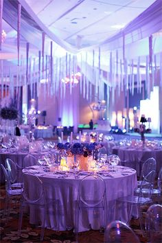 Winter Wonderland theme from PAWP's Industry Ball. Photo by Mimi & Karl. Glad to be a part of this great event!