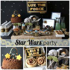 star wars birthday party | por mom2sofia