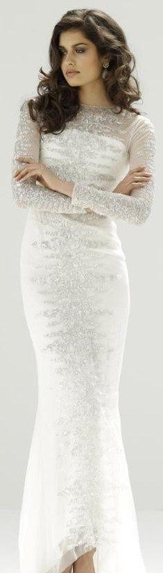 Razan Alazzouni Fall Winter v Dresses 2013, Spring Dresses, Bridal Gowns, Wedding Gowns, Ivory Wedding, Vestidos Online, Ivoire, Celebrity Dresses, White Fashion