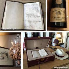 Notitieboekje van #Krug #champagne #history #JosephKrug #ChampagneBabes