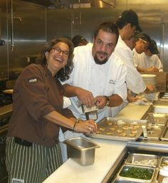 Susan and Border Grill Las Vegas Chef Mike Minor