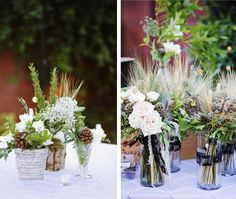 Backyard Vintage Wedding