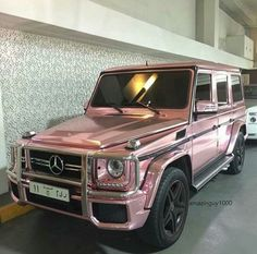 Pink metallic G wagon