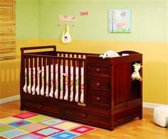 AFG Athena Daphne 2-in-1 Crib.. I would want this in black.