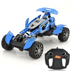 Customizable RC Stunt Car SDL Transcender - 2.4GHz Frequency, 80-100 Meter Ran
