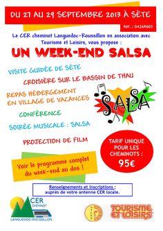 Un week-end Salsa. Du 27 au 29 septembre 2013 à Sète.