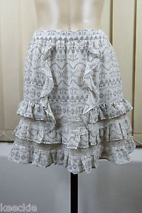 Size M 12 Portmans Ladies Skirt Vintage Inspired Boho Chic Feminine Lace Design | eBay