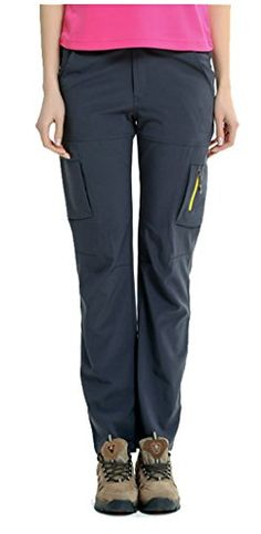 Geval Women's Outdoor Waterproof Breathable Quick Drying Pants Grey | Backpack Outpost