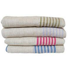 Hand Woven Linen Runner -