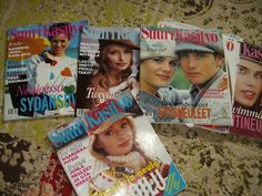 Old sewing magazines Sewing Magazines, Baseball Cards