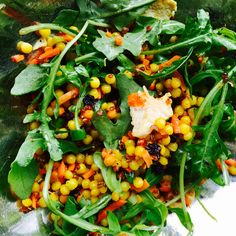 This Lemon Chicken & Arugula Salad with Israeli Couscous & Quinoa is a very close version of a salad from Trader Joe's. It's worth the effort!