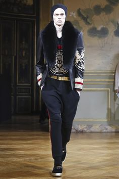 Balmain Homme Menswear Fall Winter 2015 Paris - NOWFASHION