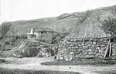 Cottages in Glen Drynoch, Skye