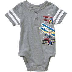 577048537 Garanimals - Bb Henley Creeper - Walmart.com. Baby Boy NewbornCreepersOur  BabyLittle ...