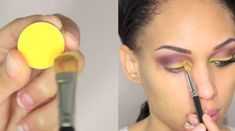Colorful Eye Makeup for Brown Eyes Do you want to make your hazel brown eyes stand out? This colorful eye makeup for brown eyes will do just that and offer a unique look too. Natural Makeup Tips, Eye Makeup Tips, Smokey Eye Makeup, Diy Makeup, Makeup Ideas, Makeup Tutorials, Eyeshadow Tutorials, Makeup Inspiration, Makeup Products