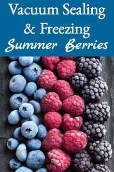 Freezing Strawberries, How To Freeze Blackberries, Freezing Fruit, Freezing Vegetables, Frozen Vegetables, How To Preserve Strawberries, Veggies, Frozen Fruit, Frozen Strawberries