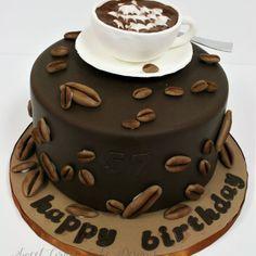 Fondant Cake Designs, Fondant Cakes, Cupcake Cakes, Chocolate Cake Designs, Best Chocolate Cake, Birthday Cake For Him, Baby Birthday Cakes, Custom Cake Toppers, Custom Cakes