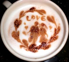 .·:*¨¨*:·.Coffee ♥ Art.·:*¨¨*: #Love #latte
