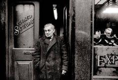"Shoe repairers, Spitalfields, 1969. ""My father was a docker,' Claridge has"