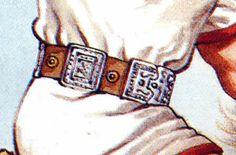CINCTORIUM: Especie de cinturón, hecho en bronce; se ve en el traje de guerra de César.