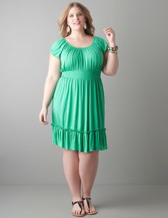 """Blogger Rachel (5\'10"""" and a size 2x) from lovelyinla.com is beyond ..."""