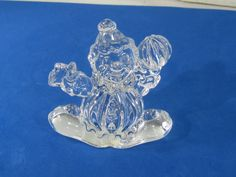 Princess House 24% Lead Crystal Treasures Clancy Clown 841