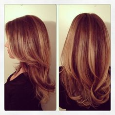 Balayage Highlights Red Hair Les cheveux longs - long <b>hair</b> on pinterest californian <b></b>