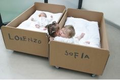 Cardboard bed? Tell us your thoughts. Is sustainability the next big thing for baby bedding?