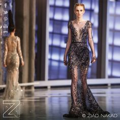 Ziad Nakad #FashionShow Fall/Winter 2014 on the 63rd floor of #1WTC — at One World Trade Center (The Freedom Tower).