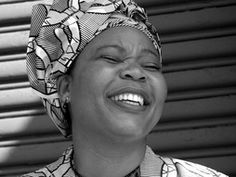 Leymah Gbowee, incredible leader, organizer and ambassador for women and girls. Watch her TED talk and you'll agree.