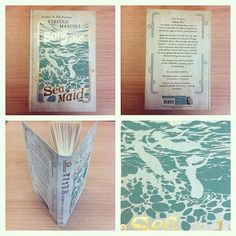 Lovely editor Francine Toon did this super montage to show off the gorgeous hardback cover.