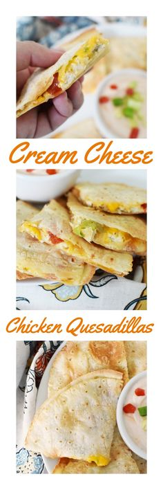 Gluten-Free Dinner Idea: Cream Cheese Chicken Quesadillas- A gluten-free cheesy, flavorful chicken quesadilla recipe that is easy to prepare and scrumptious to eat! via @savvysavingcoup #AD #MissionGlutenFree @MissionFoods