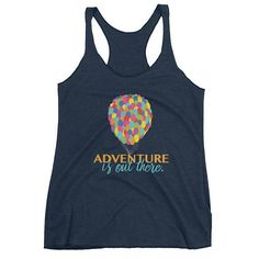 Adventure is out there! Cute Disney Tank! #disney #pixar #up