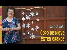 Learn to crochet Christmas snowflake wall hanging. New Year is coming and everyone is preferring for that so this is amazing project to decorate your home and make more wonderful. Crochet Snowflakes, Christmas Snowflakes, Christmas Home, Crochet Christmas, Learn To Crochet, Knit Crochet, Free Pattern, Shapes, Knitting