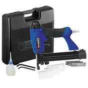 """Campbell Hausfeld CHN10499 1-1/4"""" 2-in-1 Nailer/Stapler Kit (18-Gauge) at Air Compressors Direct Direct includes a  factory-direct discount and a tax-free guarantee."""