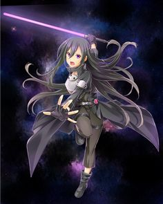 Kirito looking girly as always but still picking up all the bitches Kirito Alo, Kirito Kirigaya, Tous Les Anime, Gun Gale Online, Sword Art Online Kirito, Beautiful Anime Girl, Manga Games, Awesome Anime, Looks Cool