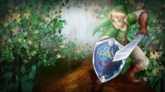Link Drawing by TotallyAnimated