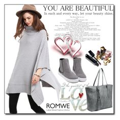 """ROMWE 9"" by woman-1979 ❤ liked on Polyvore featuring Chanel"