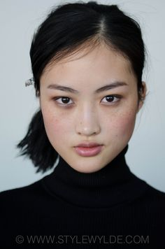 swarchives.com - Beauty - Backstage beauty report: Tess Giberson Fall 2014