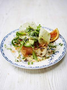 Smoked Salmon and Avocado Salad   Fish Recipes   Jamie Oliver Recipes