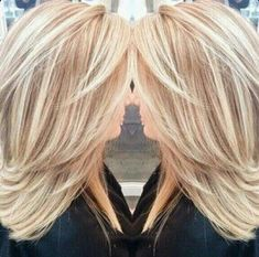 New hair color Love Hair, Great Hair, Gorgeous Hair, Hair Color And Cut, Haircut And Color, Medium Hair Styles, Short Hair Styles, Medium Layered Hairstyles, Hair Medium