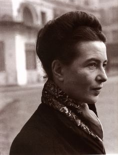 I am incapable of conceiving infinity, and yet I do not accept finity.   ~ Simone de Beauvoir