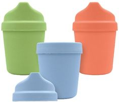 green sprouts by i play. Sprout Ware Cup w/ Travel Lid - Boy - 5 oz - 3 ct